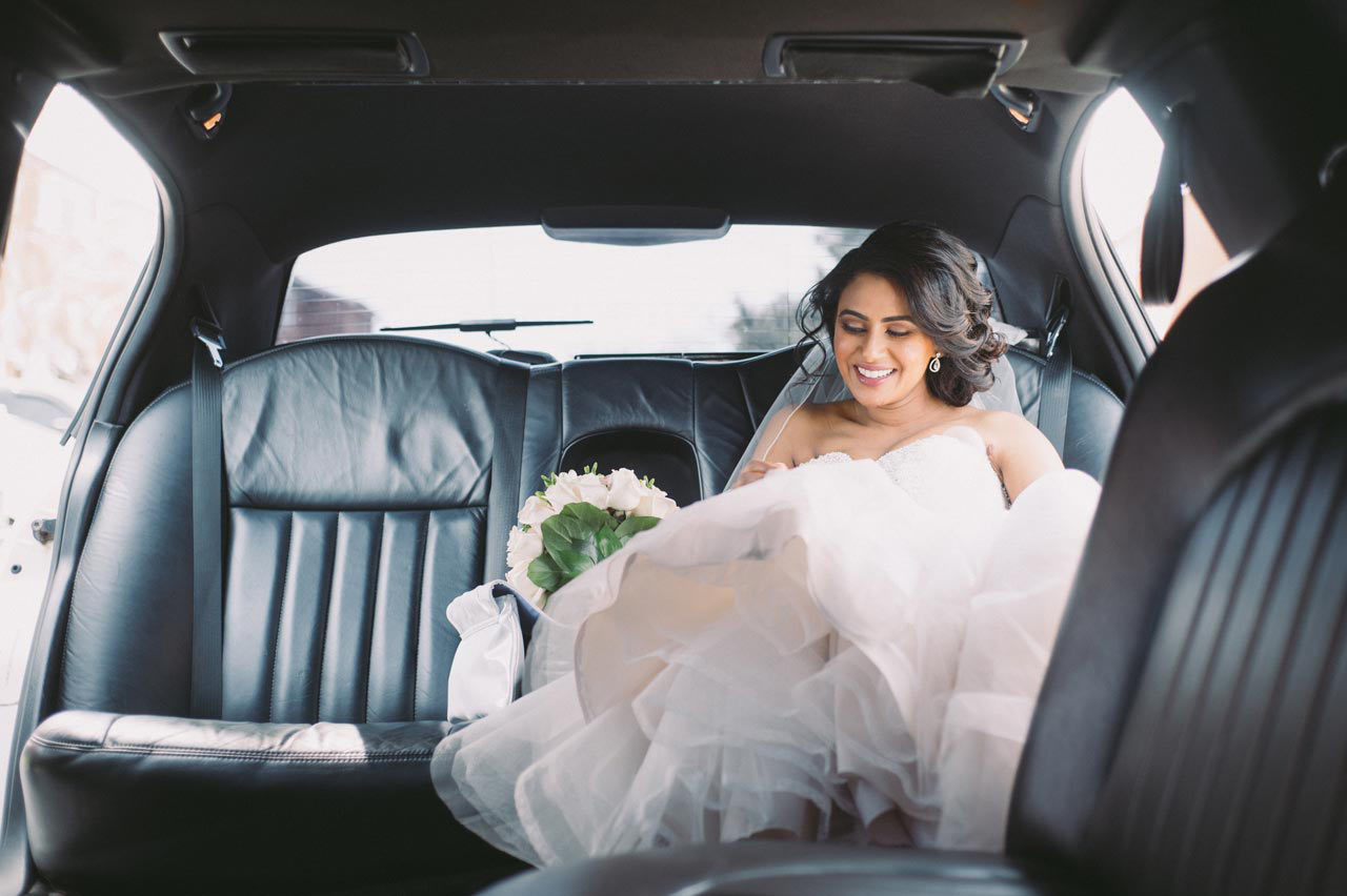 Toronto wedding photography limo